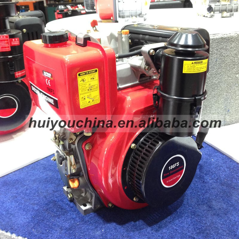 High Quality 4-12HP Air Cooled Diesel Engine, 1 Cylinder Engine, 4 Stroke Engine