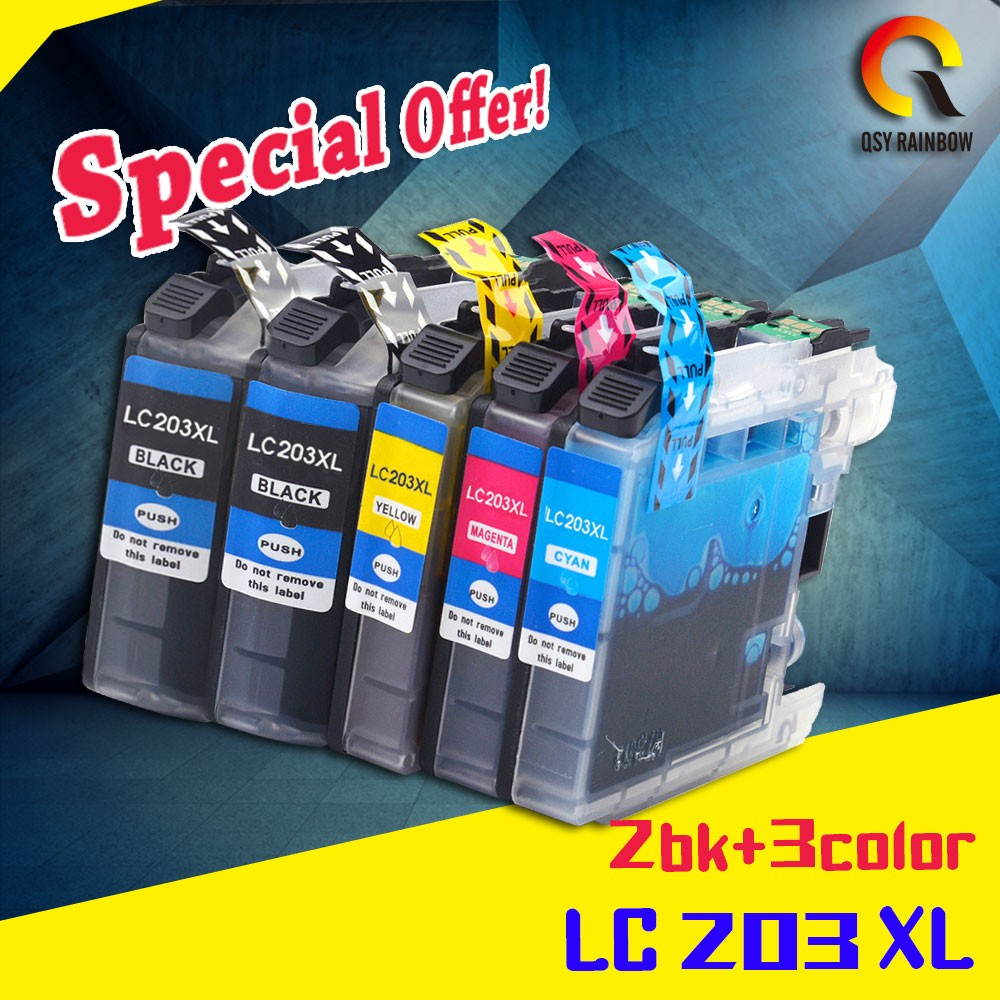 ALIBABA ZHUHAI supplier any models compatible LC203 refill ink cartridge for Brother