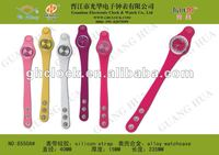 Smart wrist jelly watch for ladies