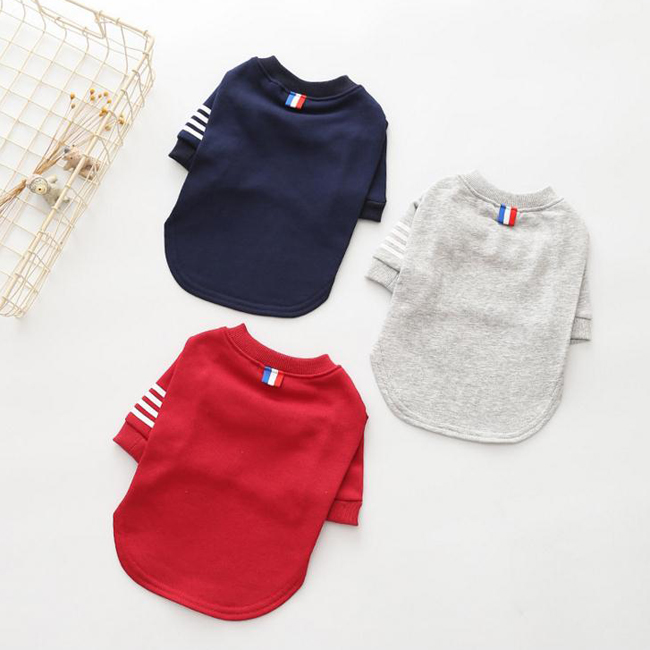 Special New Pets Clothes <strong>Dogs</strong> Soft Cotton Sports T Shirts For Spring Summer