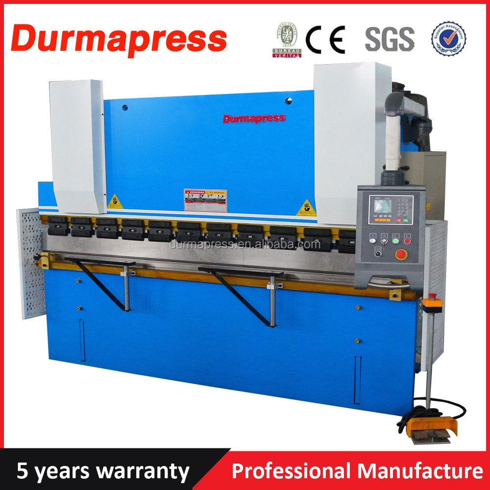 DA56 System Press Brake WC67K 160T 4000MM CNC Busbar Bending Machine