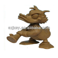 Exquisite Design Animal Statue Famous Clay Sculpture