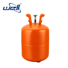 steel helium canister filling 5 kg pure helium gas cylinder for disposable helium tank balloons