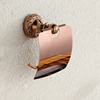 Rose Golden Toilet Tissue Holder Paper Holder Bathroom Accessories Toilet Roll Holder Bathroom Fittings
