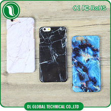 Marble Pattern Snap-on PC Crystal Case, Glossy Hard Shell Phone Cover with Smooth Touch Finish for iphone 6 case