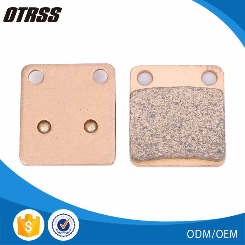 Fast street and superbike riders used metal sintered brake pad for HONDA RAOD BIKE