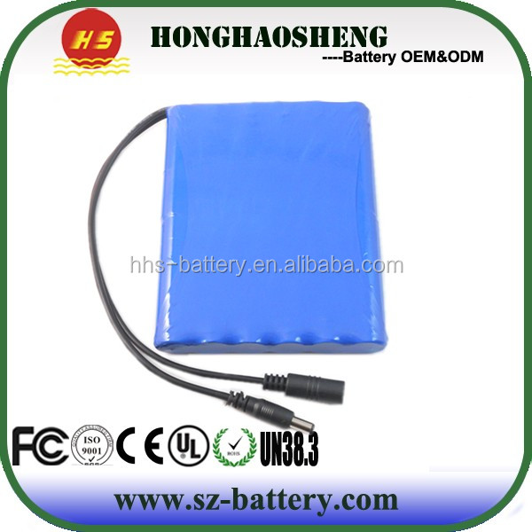 On sales high capacity 18650 rechargeable 12v 8800mAh lithium battery packfor electric vehicle
