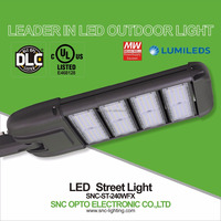High power dlc ul cul listed led street light 240W 300W