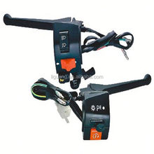 Motorcycle folding brake lever brake combination switch brake and clutch handle switch