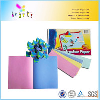 Colored building construction paper in loose sheet/sugar construction paper/loose sheet construction paper