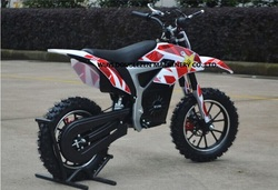 2016 NEW 500W 800W Motor Mini Electric Dirt Bike Pocket Bike for Kids