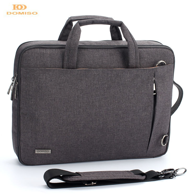 Waterproof business with shoulder strap trolley laptop sleeve messenger bag