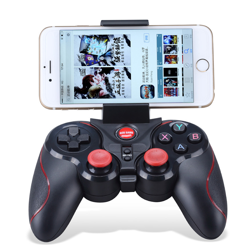 2020 Best Christmas present T3 mobile phone gamepad game <strong>controller</strong> for android &amp; ios