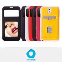 Mobile Phone Flip Mirror Holder Case