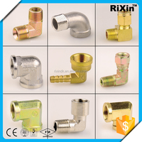 RX-1022 wholesale faucet elbow gi elbow pipe fittings brass pipe fittings nipple elbow