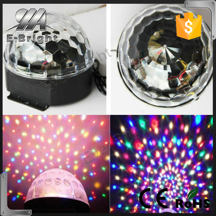 Trade Assurance new home lamp Projector DJ Lighting Light Dance Disco Crystal Magic Ball Bar Party Xmas Effect Stage Lights Show