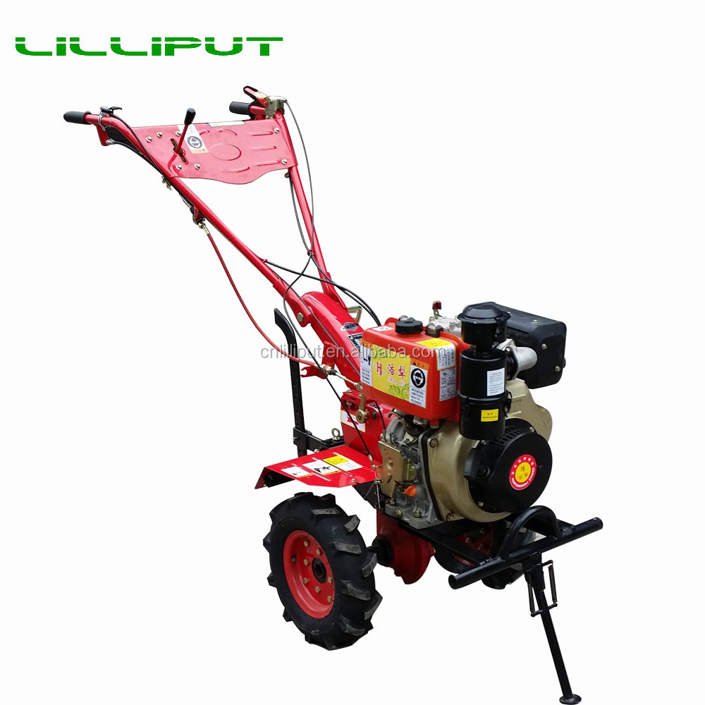 Hot Selling Multifunctional Hand Operated Wheel Cultivator