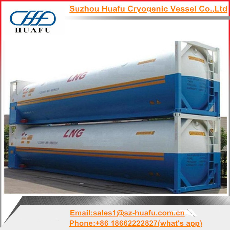 40ft iso tank container for transportation LNG