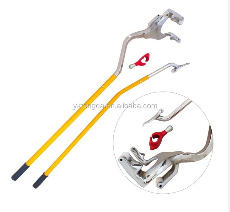 2017 crowbar hot sale MN /40cr Material iron Plated tire changer tool high-grade round and plate series crowbar repair tools