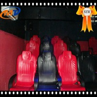 Hydraulic/ servo motor 6 seats 7d cinema and android 5mp camera box