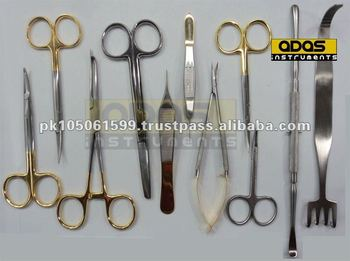 Plastic surgery instruments