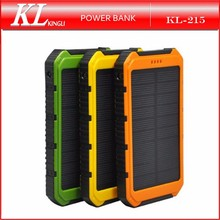 8000mAh New Arrival Hiking Universal Solar Power Bank Charger For Iphone