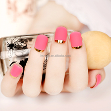 2016 new arrival artificial grind arenaceous nail art decoration french tips