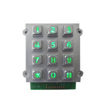 mechanical keyboard metal keypad shield rs232 door access control with keypad