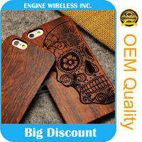 china supplier bamboo cell phone case