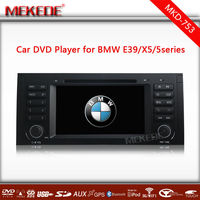 7 Inch Car Audio DVD for E39 X5 E53 Multimedia with Free GPS Map card Radio GPS Navigation from Shenzhen