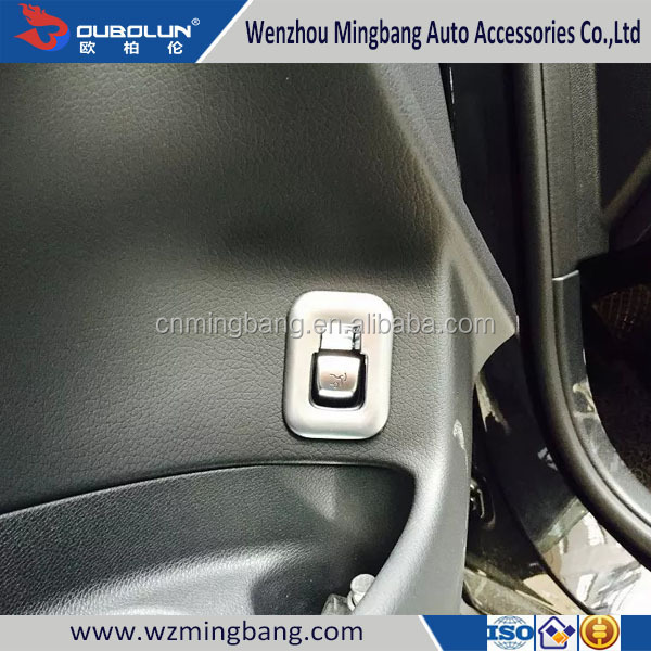 Car Interior Decoration Accessories Rear Door Switch Trim For C Class 2015
