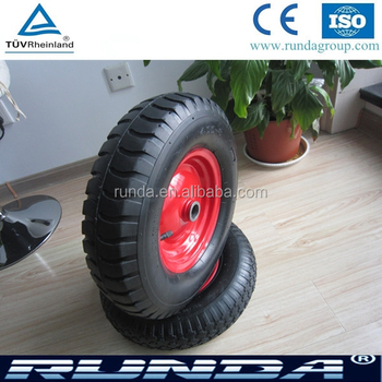 popular heavy load pneumatic rubber wheel 4.00-8