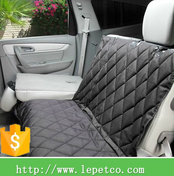 wholesale low price dog accessories Quilted washable luxury car seat cover