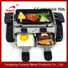 hot selling 800W temperature controlled portable electric bbq grills
