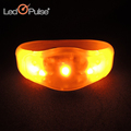 Halloween Christmas Party Souvenirs Sound Activated Wristband Led Flashing Bracelet