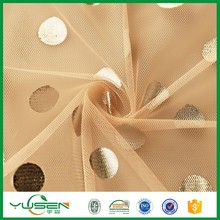 100% Polyester net Mesh Fabric For Sports Shoes/Wedding Dress