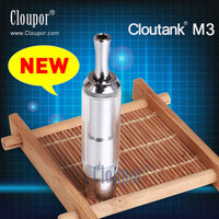 2013 vaporizer ecig e-cigarette from cloupor cloutank M3 with Innovation of technology and Patent design