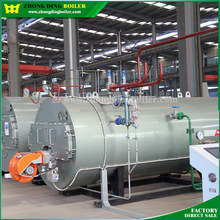 WNS Series Horizontal industrial certificated steam boiler , oil or gas Italy burner For steam turbine on sale