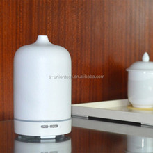 china wholesale large capacity aroma diffuser Ceramic ultrasonic rose air humidifier
