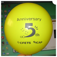 inflatable cheap custom logo printing latex balloon