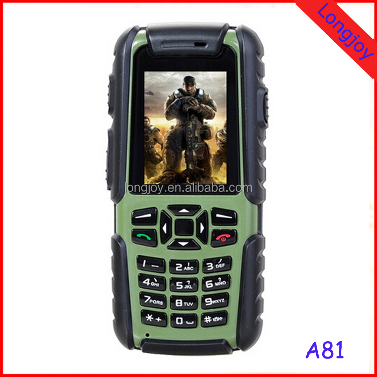 Dual SIM Card JINHAN A81 IP67 Waterproof Rugged Mobile Phone 2 Inch Support Outdoor Tools like Air Pressure Altitude etc