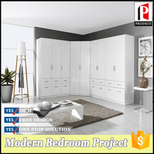 Modern Style Double Doors Bedroom Wardrobe