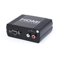 Hinsung factory supplier metal shell VGA and Audio RCA to HDMI converter