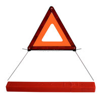 Fashionable hot sell auto red warning triangle