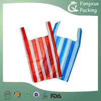 Recycled vest stripe bags