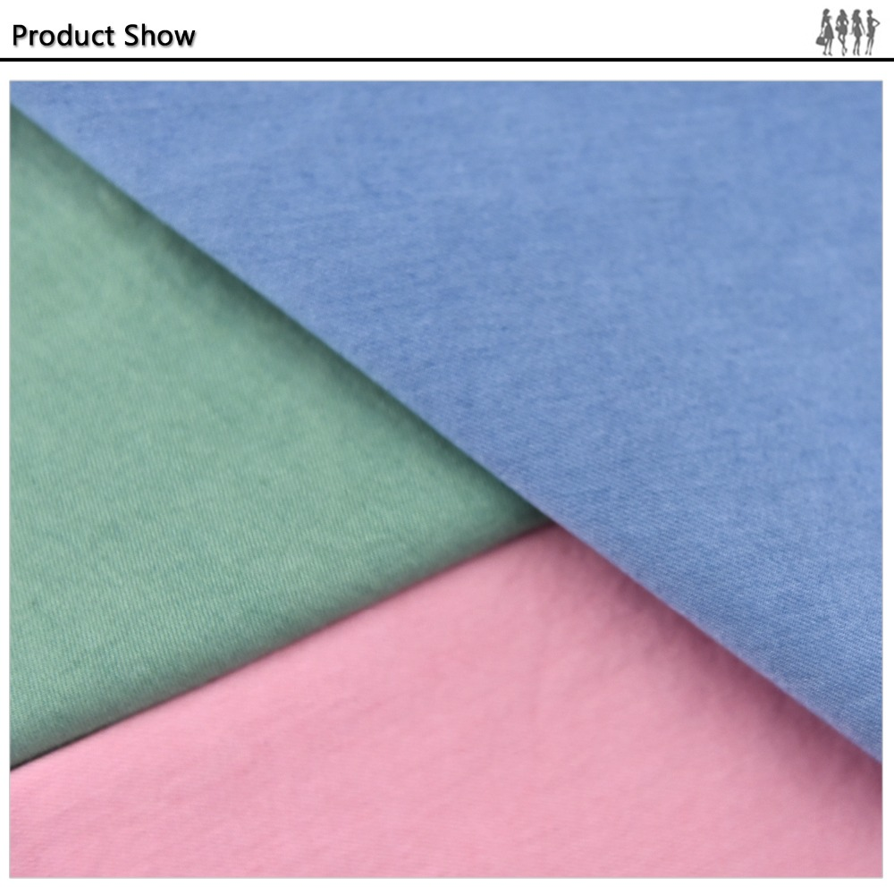 Chinese wholesale clothing distributors 100% cotton twill fabric
