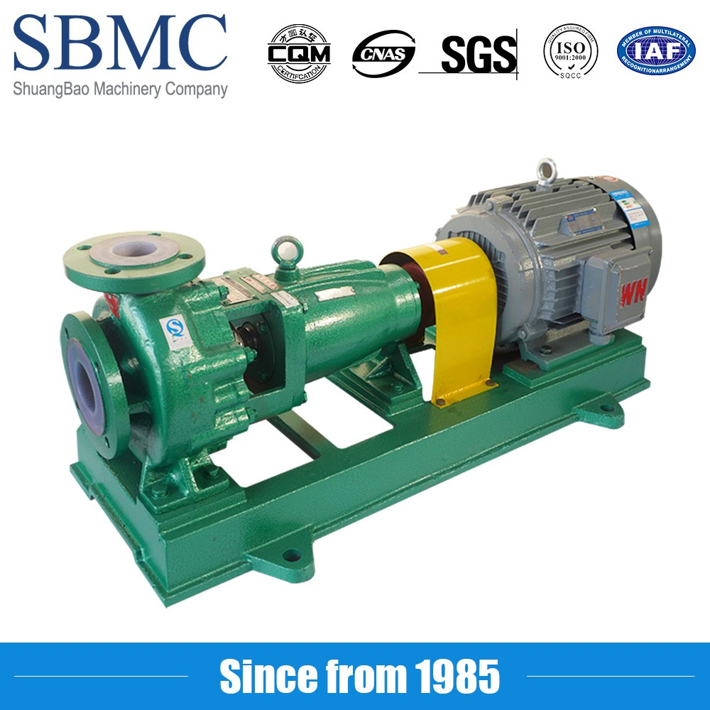 chemical usage and reciprocating chemical pump, rubber lining