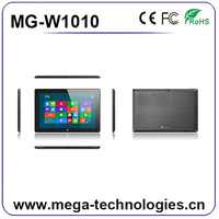 "10"" windows 8.1 windows 10 tablet pc with Intel quad core CPU, IPS screen, free micro software"