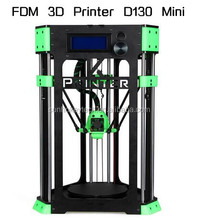 delta FDM 3d printer parts D130 mini machine with 130mmx130mm printing size