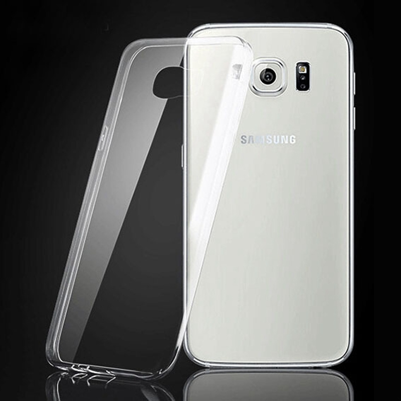 Transparent Clear Plastic Mobile Phone Cover For Samsung Monte S5620